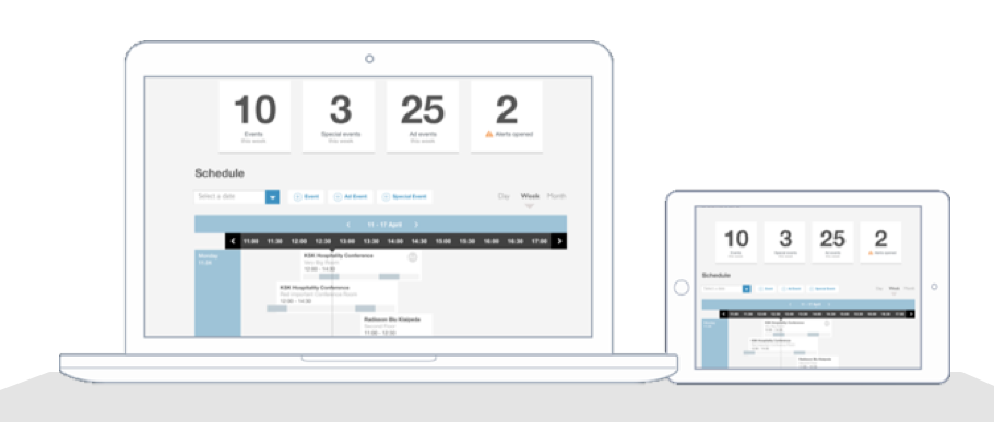 screen to manage meetings